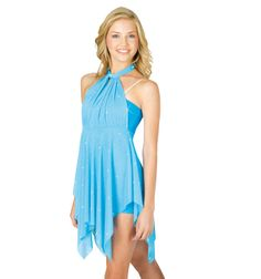 Dress With Attached Unitard - Style Number: N8451