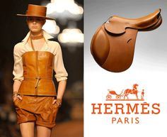 equestrian fashion shows | Hermes Equestrian Influence At Paris Fashion Week Hermes' Equestrian ...