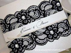Elegant invitation card Lace Wedding Invitations, Elegant Invitations, Invitation Cards, Invitation Ideas, Invite, Diy Cards, Wedding Fun, Wedding Ideas, Paper Crafts