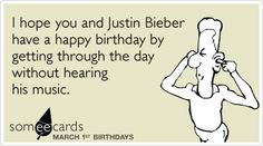 Funny tv ecard hearing your detailed theories on mad mens themes of funny birthday ecard march i hope you and justin bieber have a happy birthday by getting through the day without hearing his music bookmarktalkfo Choice Image