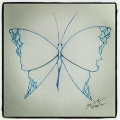 100 Butterflies in 100 Days, Day 26, Medium: Color Pencil