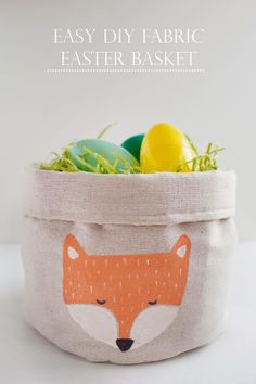 EASY FABRIC EASTER BASKET