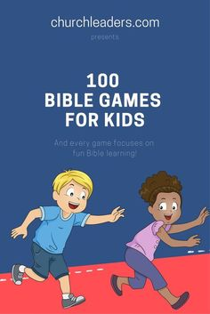 Bible games kids will love in your Sunday school, midweek program, children�s church, or even at home.