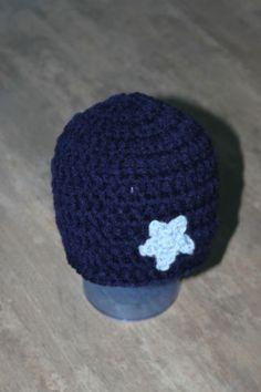 SALE Baby Newborn Crochet Star Beanie Hat Photo Prop Elf Gnome Reborn Doll
