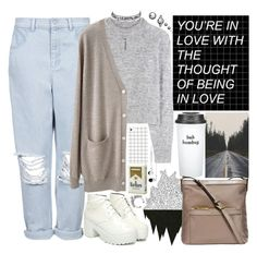 """Leave a heart-shaped hole in my chest"" by yazzyf ❤ liked on Polyvore featuring Skullcandy, Boutique, Wood Wood, Organic by John Patrick, Bow & Drape, Michael Kors and Ettika"