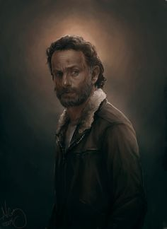 czaritsa: Maybe I'm done this time, hah Angelic Rick to match angelic Daryl