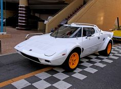 lancia stratos hf... forgotten how much i love the design of this car.