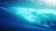 F-ing Righteous!! This is a FULL SCREEN must!             A Hypnotic Journey Through Waves and Water