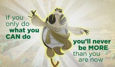 "Master Oogway ""Kung Fu Panda 3"" Kung Fu Panda Quotes, Kung Fu Panda 3, Cartoon Quotes, Movie Quotes, Wisdom Quotes, Qoutes, Master Oogway, Motivation, Startup"