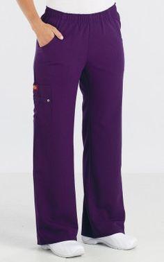 82012 Dickies Xtreme Stretch Women's Elastic Waist Pants worn by model