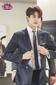 [Strong Woman Do Bong Soon] Korean Drama Park Hyung Sik, Strong Girls, Strong Women, Asian Actors, Korean Actors, Lee Min Ho, Park Hyungsik Strong Woman, Park Hyungsik Cute, Jun Matsumoto