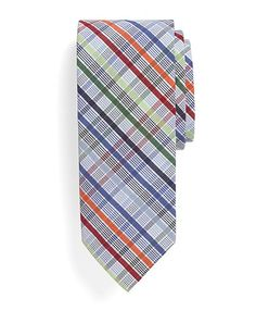I like this pattern if we could eliminate most of the colors so that the tie is primarily grey and coral... with some blue.