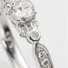 Disney Wedding ring. So cute!!!