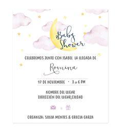 Invitación Baby Shower Dulces Sueños - Invitaciones