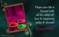 "I am Presenting ""Happy Holi Wishes Today we will be sharing as many wishing messages as we can. You know that Holi is one of the most enjoying festivals of our Hindu Community. Best Holi Wishes, Holi Wishes Messages, Holi Wishes Images, Happy Holi Wishes, Happy Holi Images, Happy Holi Greetings, Happy Holi Message, Happy Holi Quotes, Holi 2018"