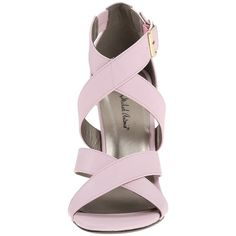 Michael Antonio Keith Women's Sandals, Pink ($23) ❤ liked on Polyvore featuring shoes, sandals, michael antonio shoes, pink open toe shoes, pink shoes, michael antonio sandals and pink high heel shoes