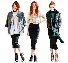 Three Ways to Wear It: Midi Pencil Skirt