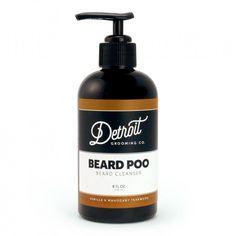 "Shampooing à barbe ""Beard Poo"" Detroit Grooming"