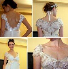 Jane Austen inspired...love the back of both of these