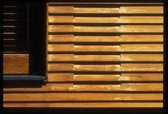 Alvar Aalto, cladding detail, Villa Mairea