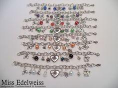 *HANDMADE* Bettelarmband Armkette Armband Silber Wiesn Oktoberfest Tracht Dirndl