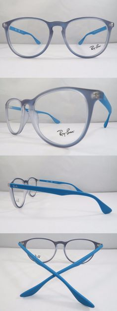 24a394800d7 Eyeglass Frames  Ray-Ban Rb 7046 5484 Azure Iridescent New Authentic Rx  Eyeglasses 51Mm