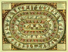 Os jogos de tabuleiro dos séculos passados | IdeaFixa | ilustração, design, fotografia, artes visuais, inspiração, expressão