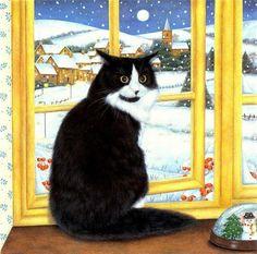 Коллекция картинок: Коты и котята Anne Mortimer