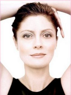 """I look forward to being older, when what you look like becomes less and less of an issue and what you are is the point"" Susan Sarandon"