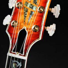 "Gibson Custom Shop Les Paul Ultima ""Tree of Life"" Fire Burst | Reverb Nashville Shopping, Guitar Inlay, Gibson Custom Shop, Body Electric, Gibson Les Paul, Gold Top, Fire"