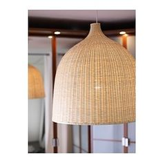 Ikea LERAN Pendant lamp, rattan | Lighting | Ikea pendant ...