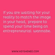 Hey Shenee! | Build a business that is impossible to ignore
