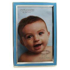 Light Blue 4 x 6 Photo Frame  #colored #photoframes