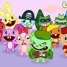 Dessin animés Happy Tree Friends