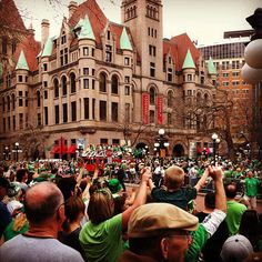 St. Paul, MN | Home of the very best St. Pat's Day parade, and our home base.