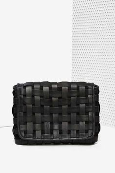 Carry Me Leather Clutch