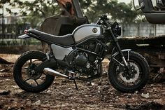 A Kawasaki Versys 650 Scrambler Is Not a Thing We See Every Day