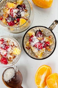 Orange Creamsicle Chia Seed Pudding #healthy #chiaseed #recipes http://greatist.com/eat/chia-seed-pudding-recipes