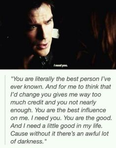 This was so beautiful and heart breaking...if only it was Elena, she would have taken him back in a heart beat. ❤️