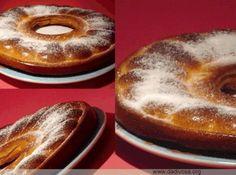 Receita de Pudim assado com bananas - 2 bananas-prata, 3/4 de xícara de farinha de trigo, 1/2 xícara de açúcar [no original era adoçante, não recomendo], 1 pitada de sal, 4 ovos, 1/2 xícara de leite, 1/2 xícara de iogurte natural [no original era só leite, mas gosto de misturar iogurte sempre que possível], 1 colher de chá de essência de baunilha, 1 colher de chá de fermento em pó [precisar, não precisava, pus somente para testar], canela em pó (opcional), açúcar de confeiteiro para…