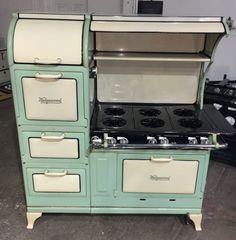 Antique Stoves, Vintage Stoves & Antique Appliances custom built to order