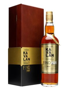 The pinnacle of Kavalan's early production - a whisky matured in Fino sherry casks, rather than the more usual darker sherry styles. Rich with more fresh fruit than you might expect from a sherried whisky. Scotch Whiskey, Bourbon Whiskey, Irish Whiskey, Whiskey Brands, Single Malt Whisky, Gift Finder, Wine And Beer, Whiskey Bottle, Liquor