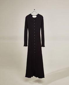 Image 3 of LONG STUDIO DRESS from Zara