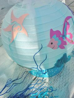 Under the Sea table centerpiece with fish and seahorse for | Etsy