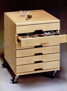 Hardware Storage Cabinet Plans - Workshop Solutions