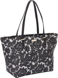 kate spade new york Cedar Street Lace Small Harmony Shoulder Black Multi - via eBags.com!
