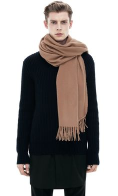 Acne Canada Scarf Light Camel
