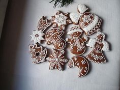 No Bake Cookies, No Bake Cake, Cake Cookies, Cupcake Cakes, Swedish Christmas, Christmas Gingerbread, Gingerbread Decorations, Gingerbread Cookies, Christmas Items