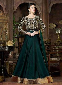 New Bollywood Salwar Dress Anarkali Indian Ethnic Kameez Pakistani Suit Designer #TanishiFashion #Gown