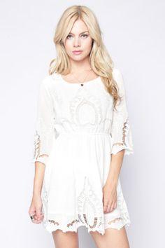 ANNETTE WHITE DRESS